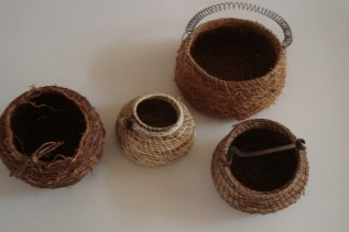 Group of baskets (Sally Roadknight)